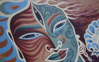 Ardhaneswara (Ardhanarishvara) - Atelier Aandacht