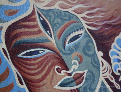 Drie wijze lessen van Ardhaneswara