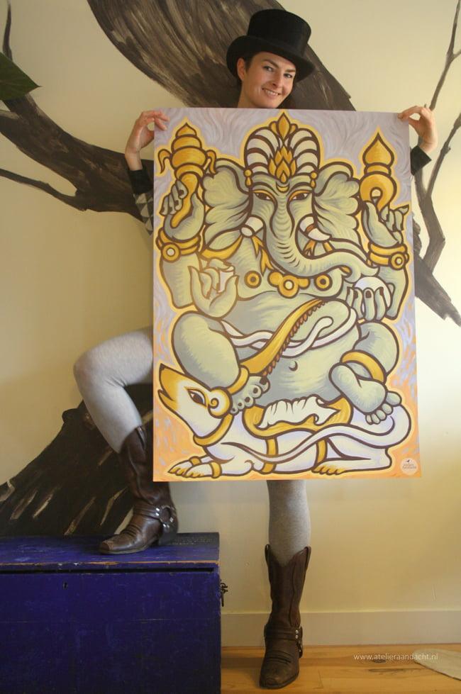 De Ganesha Art Print