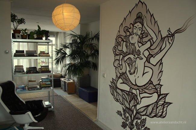 Shakti Shiva, magic mural by Atelier Aandacht (9)
