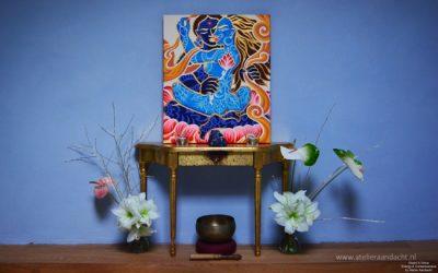 Atelier Aandacht tantra schilderij