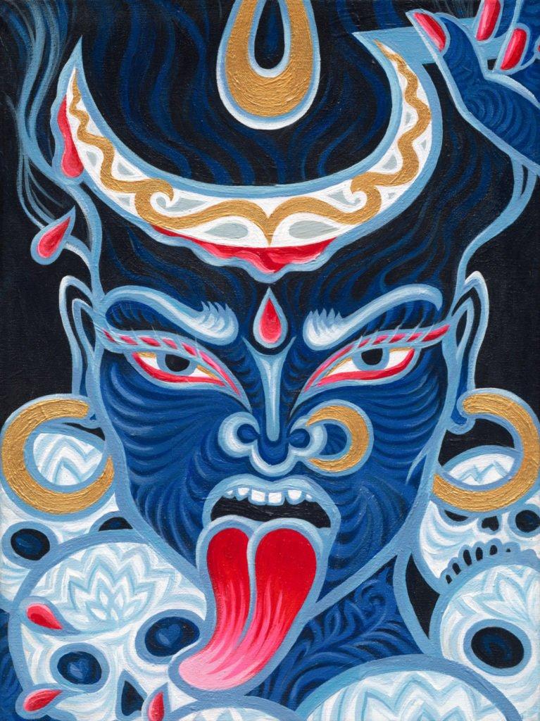 Kali, Tantrische godin - copyright @ Atelier Aandacht