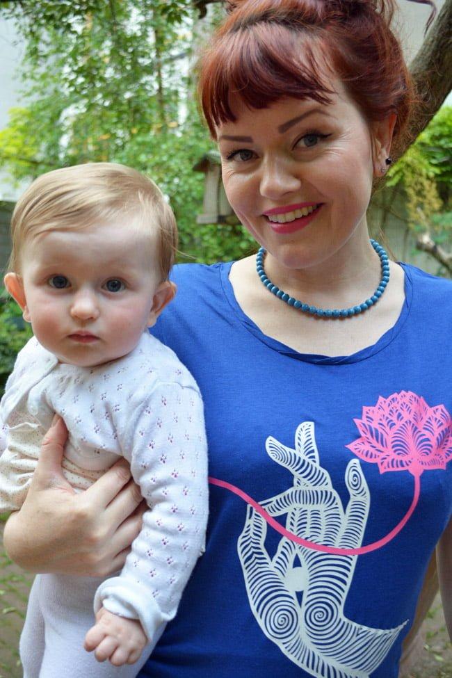 godinnen yoga shirt - super eco