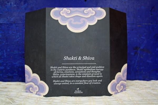 Huisaltaar van Shakti & Shiva - uit de 'Home & Travel Altars' set - achterkant