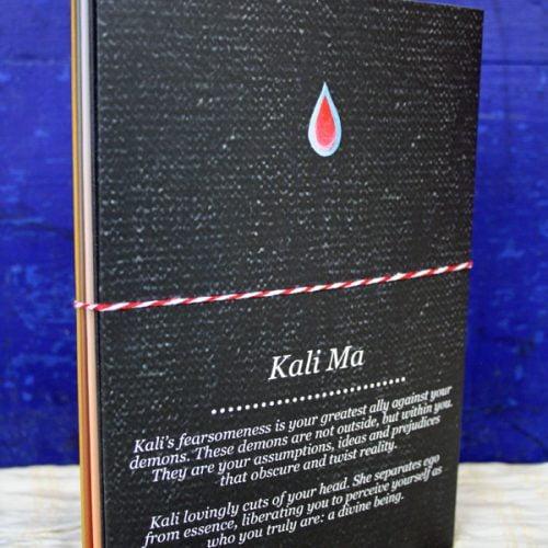 'Home & Travel Altars' set - achterkant van het pakketje