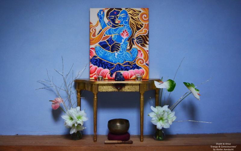 Shakti & Shiva - tantrische goden - Atelier Aandacht