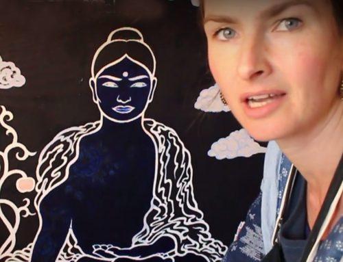 Waarom ik de Medicijn Boeddha schilder
