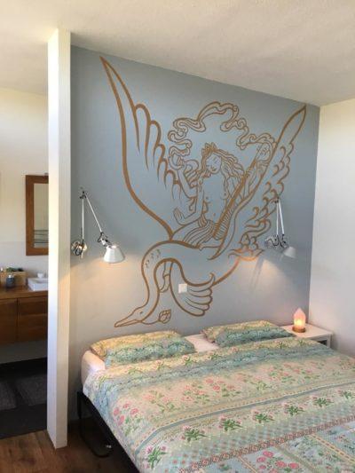 Atelier Aandacht muurschildering