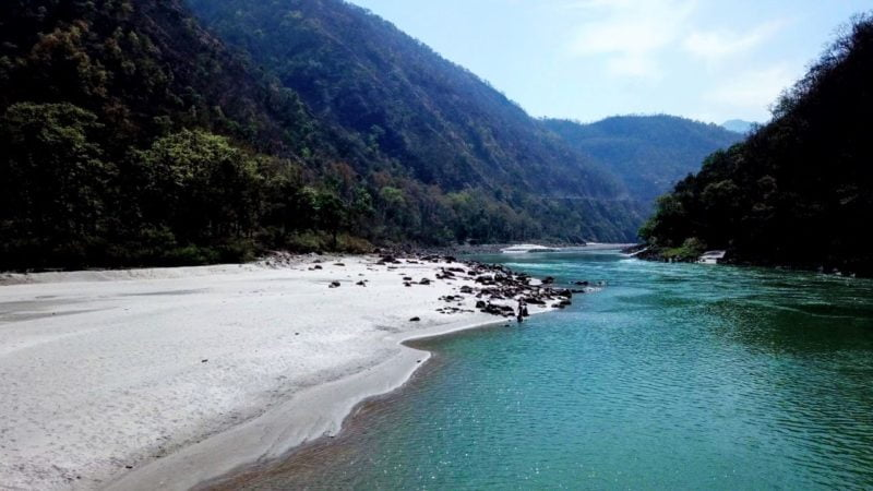 The Ganges - near Rishikesh