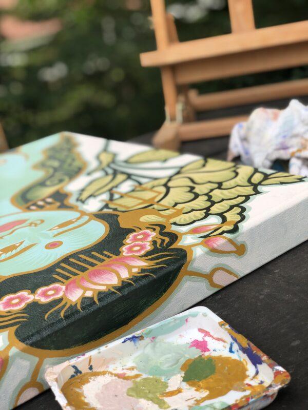 Kali - tantra godin van Atelier Aandacht